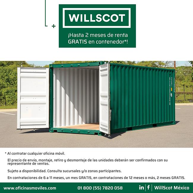 Willscot México Líder En Oficinas Móviles